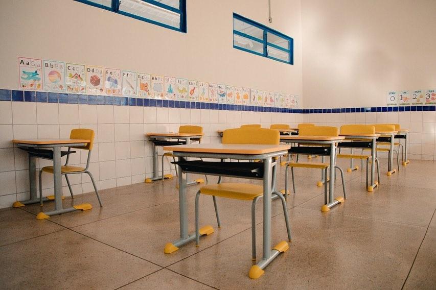 Sala de aula da nova creche. (Foto: Bruno Velasco/Secom)